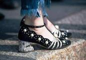 贵气又摩登的珍珠鞋,我只想要这双