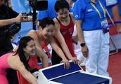 游泳——全国冠军赛:河北队获女子4X200米自由泳接力冠军