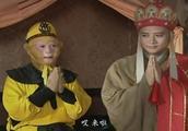 西游记:孙悟空变成唐僧的模样 这假正经的样子真搞笑