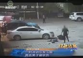 酒吧内发生争执,两伙人一时冲动引发斗殴,两男子被砍伤