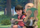 熊出没之探险日记2:光头强掉入了悬崖,赵琳通过定位找到了他