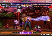 拳皇97:顶级高手河池大门爆发,K神不出,谁与争锋?