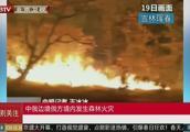 中俄边境俄方境内发生森林火灾,火势得到控制,未进入我国境内