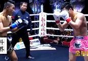 中国武术高手过招,又一位传人暴揍泰国拳王为武术正名!