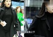 关晓彤现身机场,拎包狂奔一脸慌张,网友:赶着去见鹿晗?
