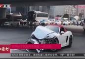 北京双井桥下一司机酒驾闯红灯引发三车事故 致一死三伤