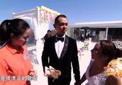 变音希腊华人在爱情海圣托里尼岛举办西式婚礼,唯美浪漫好美啊