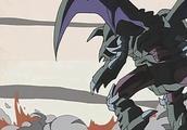 游戏王,黑魔龙王和黑魔导换位,打败了三位一体的雷风水魔神