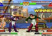 拳皇98:小孩VS赖霸-孩老板遭遇非常令人头痛的被打进S战