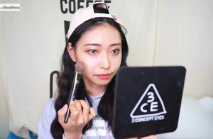 美妆教程:灰色隐形,黑发混血感妆容教程!