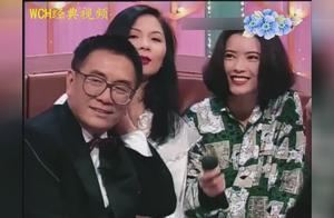 蓝洁瑛95年与关之琳曾华倩等女星同台参加娱乐节目,台下明星云集