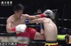 邓泽奇遭遇劲敌,加赛回合愤怒爆发把对手压到角边连续暴打!