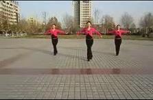西班牙广场舞 恰恰(附教学视频)-好看又健身
