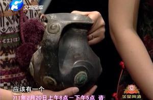 美女对它期望很高:这件羊头壶传世很少在台北故宫博物院有一件!