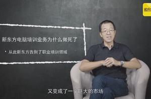 俞敏洪:电脑培训业务的倒闭,让新东方决定不再做职业培训领域