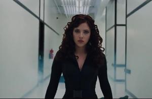 钢铁侠2.寡姐的动作真是太帅了,人也美的令人窒息