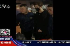 """公安部都""""惊动""""了!粉丝机场疯狂追星,机场扶梯的玻璃都被挤爆"""