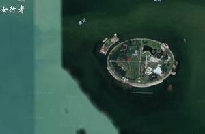 """谷歌地图发现""""一个神奇的岛屿 """",在河南省济源市!"""