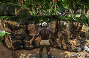 方舟生存进化:水晶岛8 一秒教会你找到金属