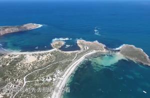 这个小岛的景色太美了,小伙不远万里来钓鱼,他能钓到大鱼吗
