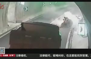 女司机驾车撞上隧道壁当场死亡,交警:行驶34分钟内用了30次手机