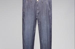 """男人想要造型变得时髦,却懒得动手,拿""""巴宝莉""""牛仔裤适合你!"""