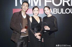 37岁张钧甯一袭透视长裙美得太惊艳,同框唯美超模身材比例也不输