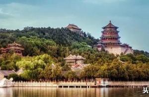 皇家园林颐和园的著名景点——万寿山