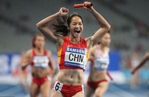 43秒14!中国女子接力队夺冠,超越牙买加的43秒23成世界最好成绩