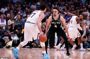 NBA季后赛 马刺vs掘金:手握赛点就在本场 掘金没经验只能挨打!