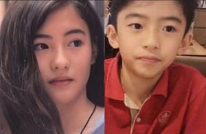 张柏芝晒自己12岁时的青涩照,像极了女版的Lucas!