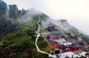 贵州梵净山成功成为世界非遗 一组梵净山美图看一下!