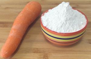 1分快3把新鲜红萝卜打成粉?