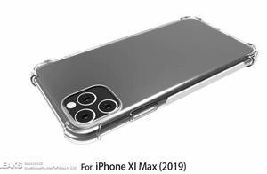 你能接受吗?iPhone XI Max带壳渲染图曝光,不是一般的丑