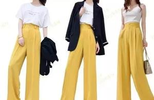 橙色裤子黑衣服好看吗 黑色裤子配什么颜色的上衣服好看