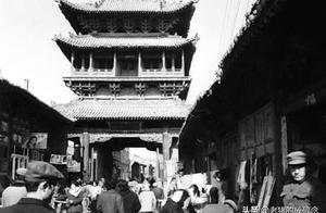 40年前山西平遥古城老照片,原汁原味的明清古建筑