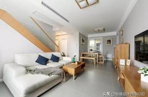 爆改80㎡顶层复式,3室1厅还有大飘窗,你能想象花了多少费用吗?