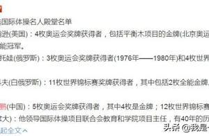 李小鹏入选国际体操名人堂,16次拿世界冠军,无愧中国体操第一人