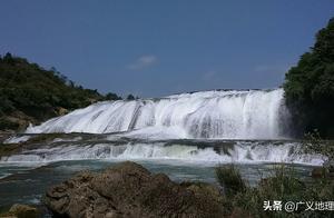中国最大瀑布黄果树瀑布实拍 用别的人索尼手机拍的 像素不错