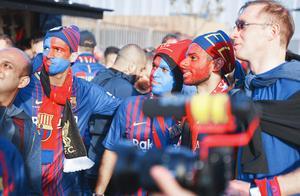 巴萨vs利物浦欧冠观赛手记:在魔鬼主场诺坎普看梅西,球王降临