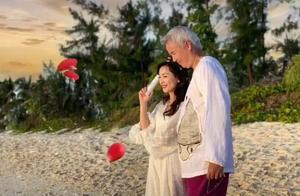 张庭58岁老公与某女子甜蜜相拥,他接下来的举动让网友放心了