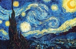 梵高一套作品欣赏,一个不被人理解的画家,只能用颜色来倾诉