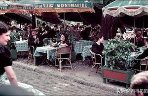 1939年二战前夜的巴黎宁静而美丽  德国兵就要来了