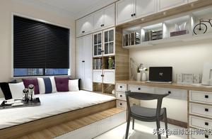 榻榻米床+柜子如何组合设计?30个案例告诉你……