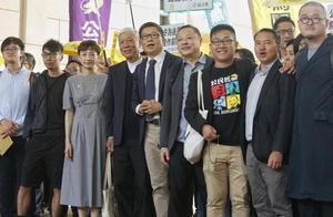 """香港非法""""占中""""案今判刑 三名主犯均获刑16个月"""