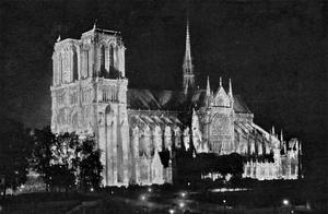 雨果曾预知巴黎圣母院的浩劫?昔日旧照再看一眼这座文化瑰宝
