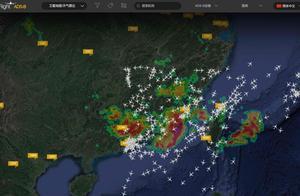 广深珠机场受暴雨影响部分航班取消及延误