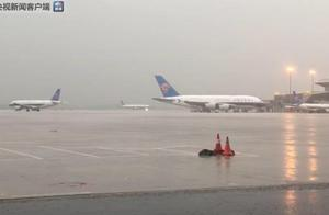 暴雨致广州市区各客运站停止售票、暂停发班 白云机场累计已取消90架次航班