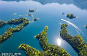 安徽黄山:秀山秀水太平湖