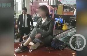 奔驰维权女车主被维权,上海20多商户指其欠债575万失联6个月
